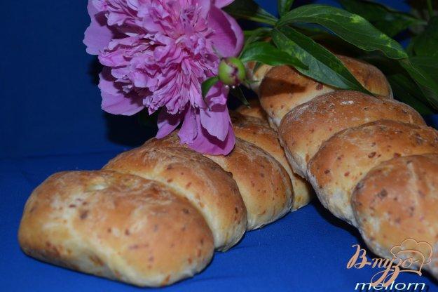 Рецепт Сырный хлеб с творожной начинкой