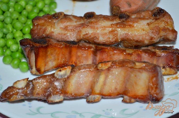 Фото приготовление рецепта: Свиные ребрышки в маринаде шаг №3