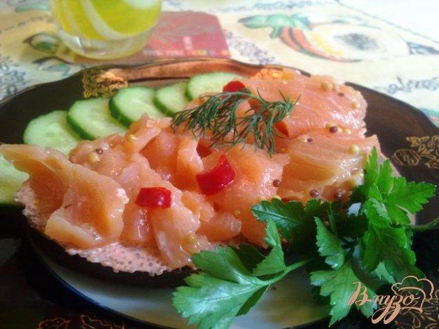 фото рецепта: Лосось в остро-сладком маринаде
