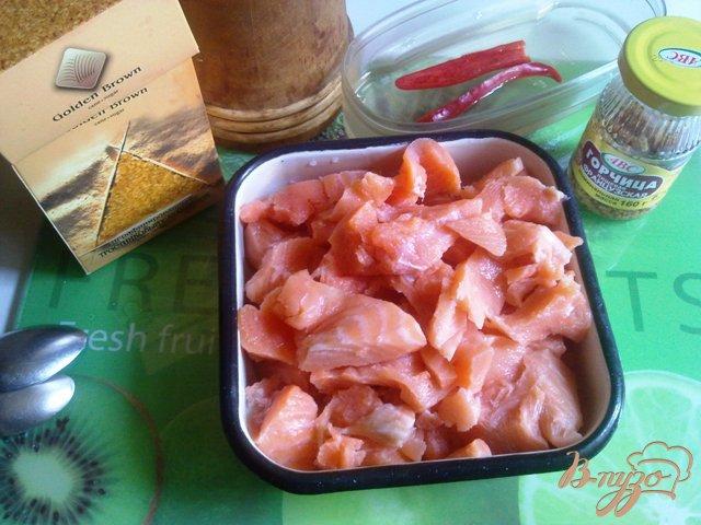 Фото приготовление рецепта: Лосось в остро-сладком маринаде шаг №2