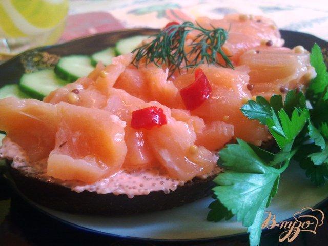 Фото приготовление рецепта: Лосось в остро-сладком маринаде шаг №8