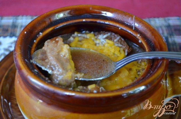 фото рецепта: Луковый суп с богатым вкусом