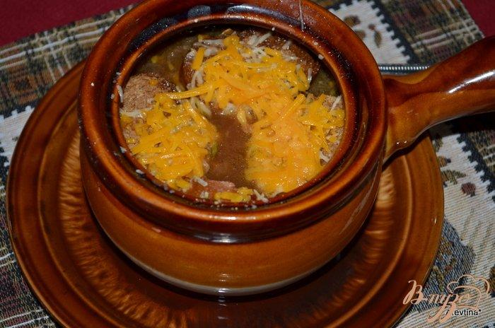 Фото приготовление рецепта: Луковый суп с богатым вкусом шаг №4