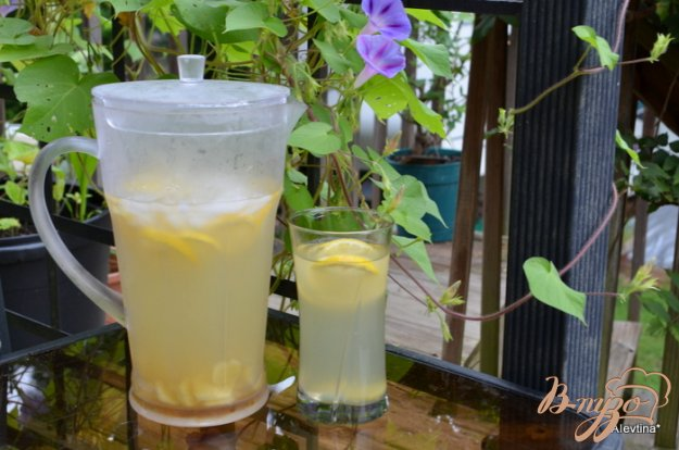 Рецепт Имбирный лимонад