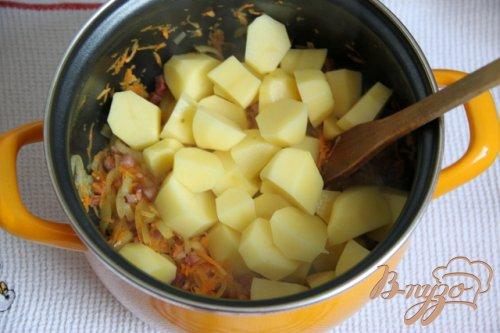 """Гуляш из картофеля """"goulash on poor"""""""
