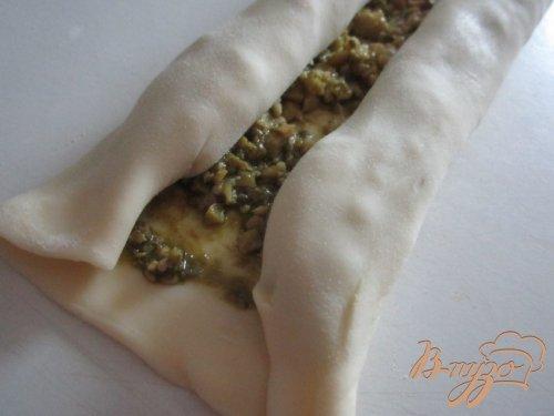 Закусочные ушки с оливками