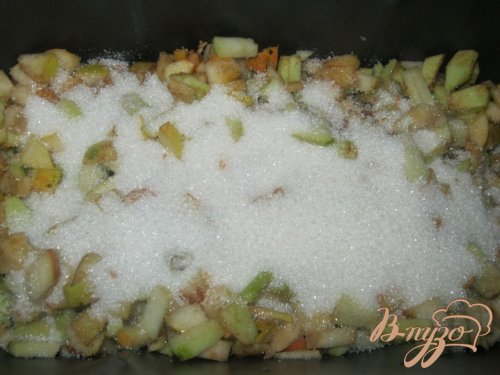 Варенье из яблок и груш в хлебопечке