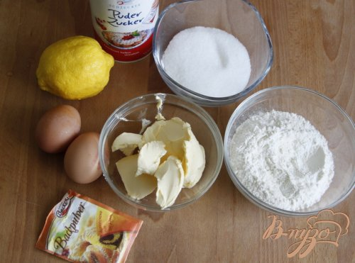 """Лимоный пирог """"Простейший и самый вкуснейший"""""""