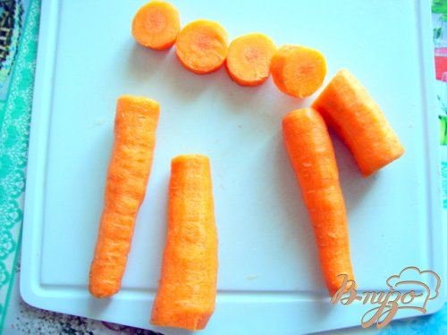 Морковь в тесте