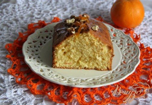 Израильский апельсиновый кекс