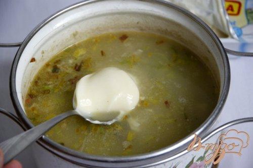 Английский рисово-куриный сливочный суп