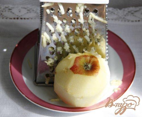 Итальянский шоколадно яблочный пирог