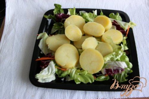 Картофель по-перуански с  киноа-соусом
