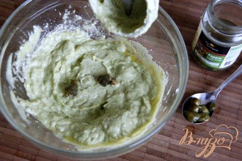 Паста с соусом из авокадо