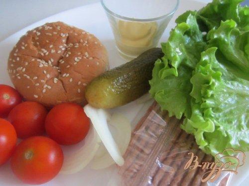 """Салат """"Бургер"""""""