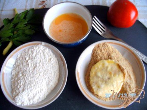 Стручковая   фасоль  с  сыром  моцарелла