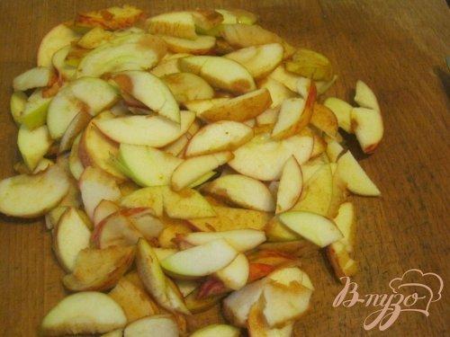 Слоёный яблочный пирог