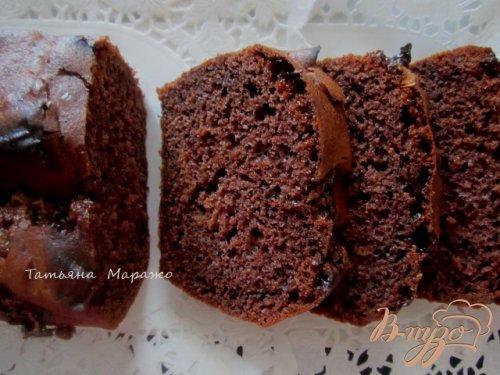 Шоколадный кекс с маршмеллоу