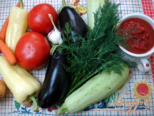 Ассорти  из фаршированных овощей
