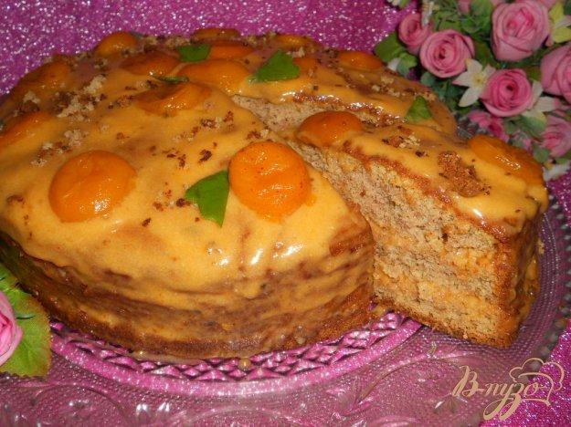 Рецепт Бисквитный торт «Шифон»