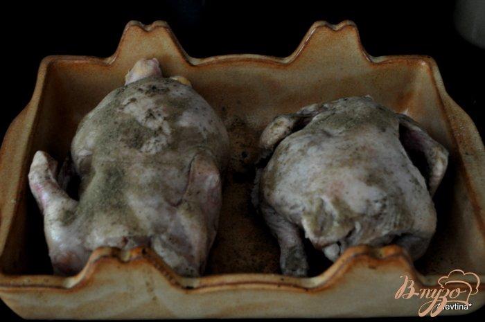 Фото приготовление рецепта: Куропатки в абрикосовом соусе шаг №1
