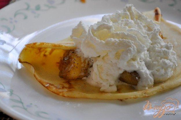 Рецепт Блинчики с банановой начинкой