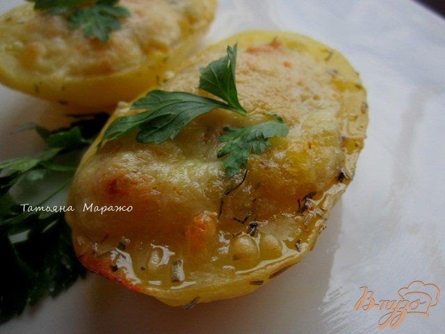Фото приготовление рецепта: Картофельные лодочки шаг №6