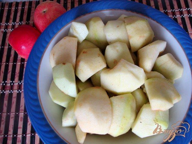 Фото приготовление рецепта: Яблочный  десерт шаг №1