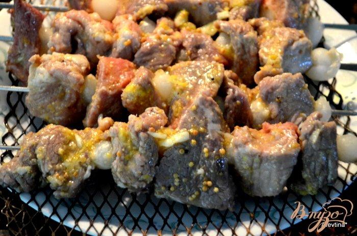 Фото приготовление рецепта: Кебаб говяжий