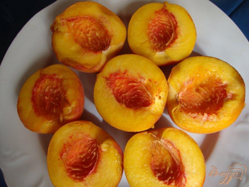 Фото приготовление рецепта: Персиковый   десерт шаг №1