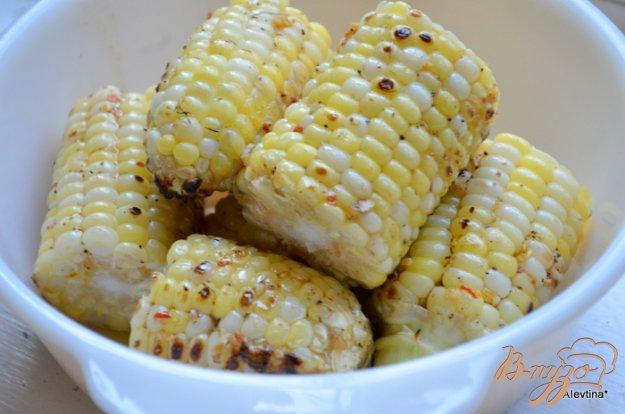 фото рецепта: Кукуруза с кленовым сиропом