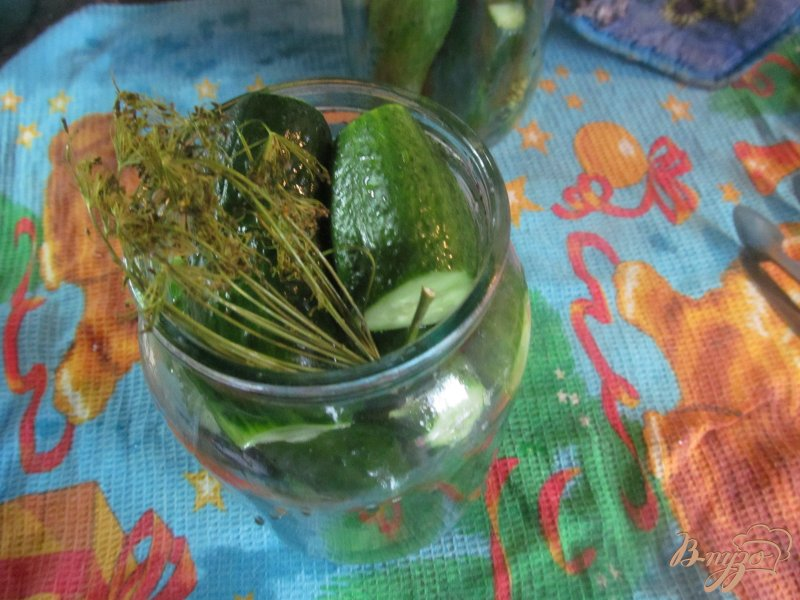 Фото приготовление рецепта: Засолка огурцов шаг №2