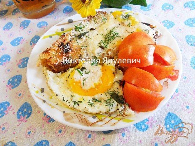 Рецепт Гренки с яйцом и пармезаном