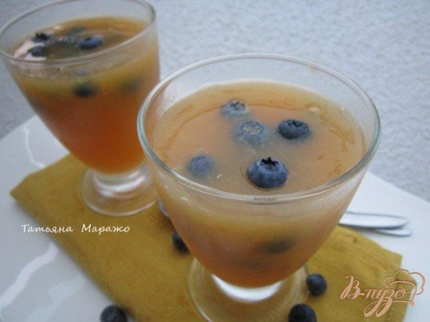 Рецепт Желе из дыни с апельсиновым соком