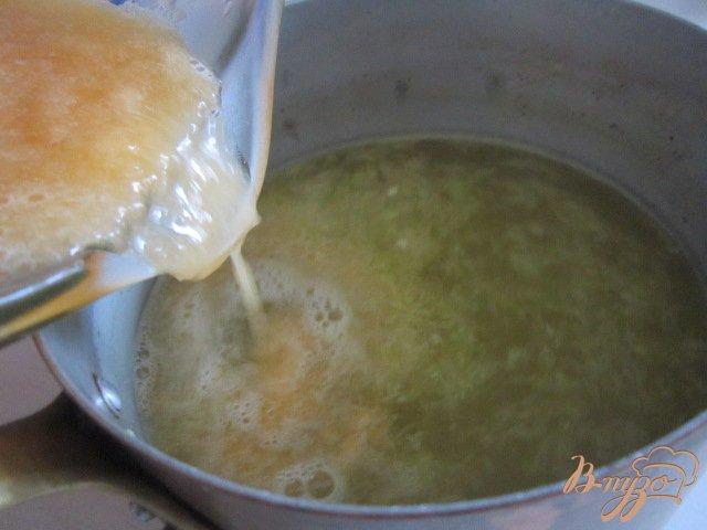 Желе из дыни с апельсиновым соком