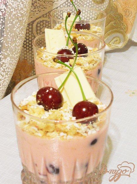 Рецепт Летний десерт с вишней