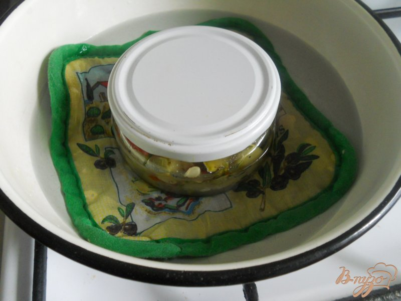 Фото приготовление рецепта: Кабачки как грибы на зиму шаг №4