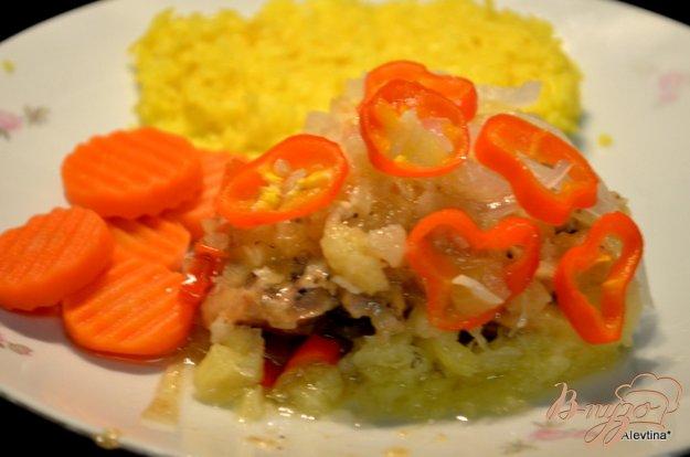 Рецепт Курица в ананасовом соусе