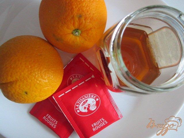Фото приготовление рецепта: Чайная настойка с апельсиновым соком шаг №1