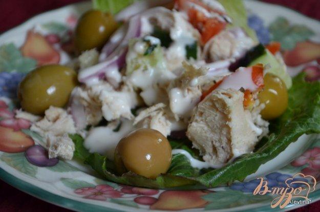 фото рецепта: Куриный салат с овощами