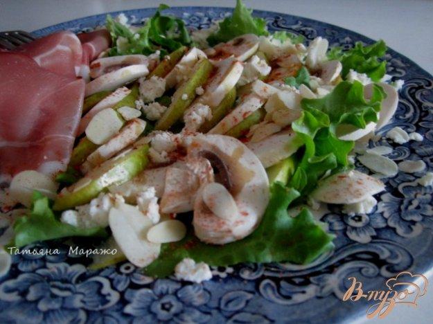 рецепты салатов с шампиньонами и свежими огурцами