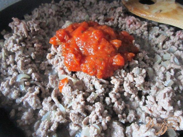 Фото приготовление рецепта: Запеканка из цукини с фаршем шаг №2