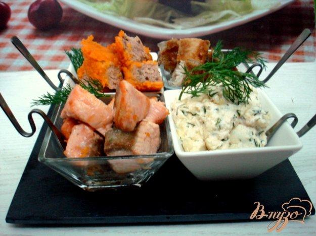 Рецепт Рыбная фуршетная закуска