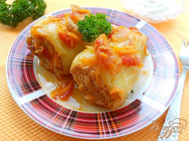 Рецепт Перец болгарский фаршированный