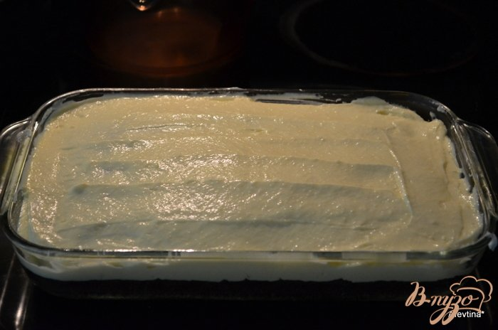 Фото приготовление рецепта: Банановый брауни шаг №3