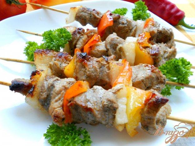 Рецепт Свиной шашлык на сковороде-гриль