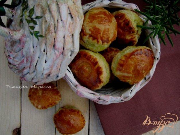 Рецепт Закусочные слойки с маслинами