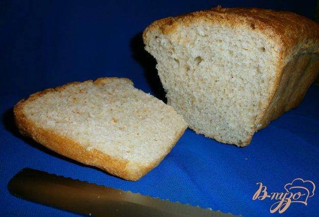 фото рецепта: Хлеб на минеральной воде и мартини