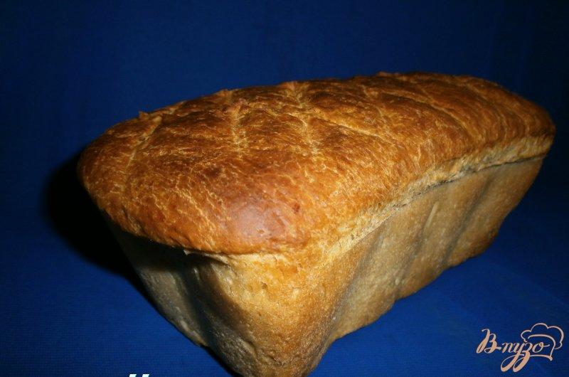 Фото приготовление рецепта: Хлеб на минеральной воде и мартини шаг №3