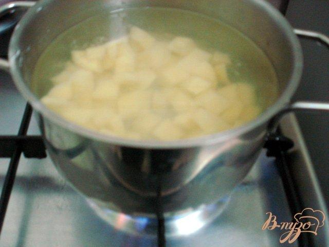 Фото приготовление рецепта: Грибной суп со сметаной шаг №2